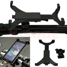 Portable Motorcycle Bicycle Bike Car Handlebar Mount Holder For iPad Tablet PC Z09 Drop ship