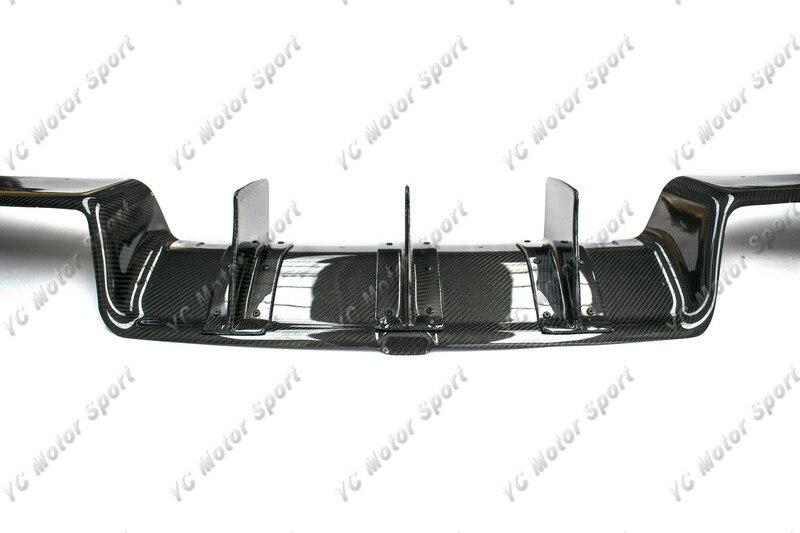 2011-2013 VW Scirocco R Karztrec Style Rear Diffuser CF (8)