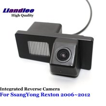 Liandlee Car Rearview Reverse Camera For SsangYong Rexton 2006~2012 Backup Parking Rear View Camera / Integrated High Quality liandlee for land for rover freelander 2 2006 2015 car reverse camera rear view backup parking camera integrated high quality