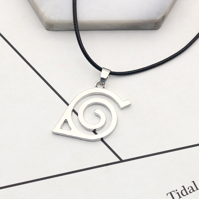 Necklace Kakashi Leaf Village Symbol Cosplay Pendant