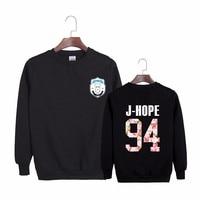 2018 Kpop Bts Hoodies 2th Album WINGS Bangtan Boys Hip Hop HipHop Monster Cotton Hoodies Clothes