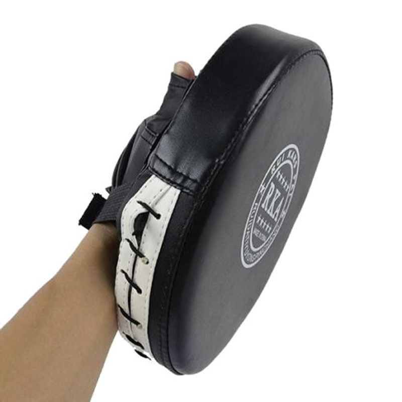 PU Leather Boxing Sparring Kick Fight Marate MMA Gloves Target Pad Muay Thai Karate Training Cartoon Pads  Guantes De Boxeo