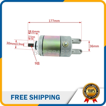 For Feishen 300 Water-cooled Start Motor Fits For Feishen Linhai 250cc 300cc Scooter And ATV Engine Free Shipping