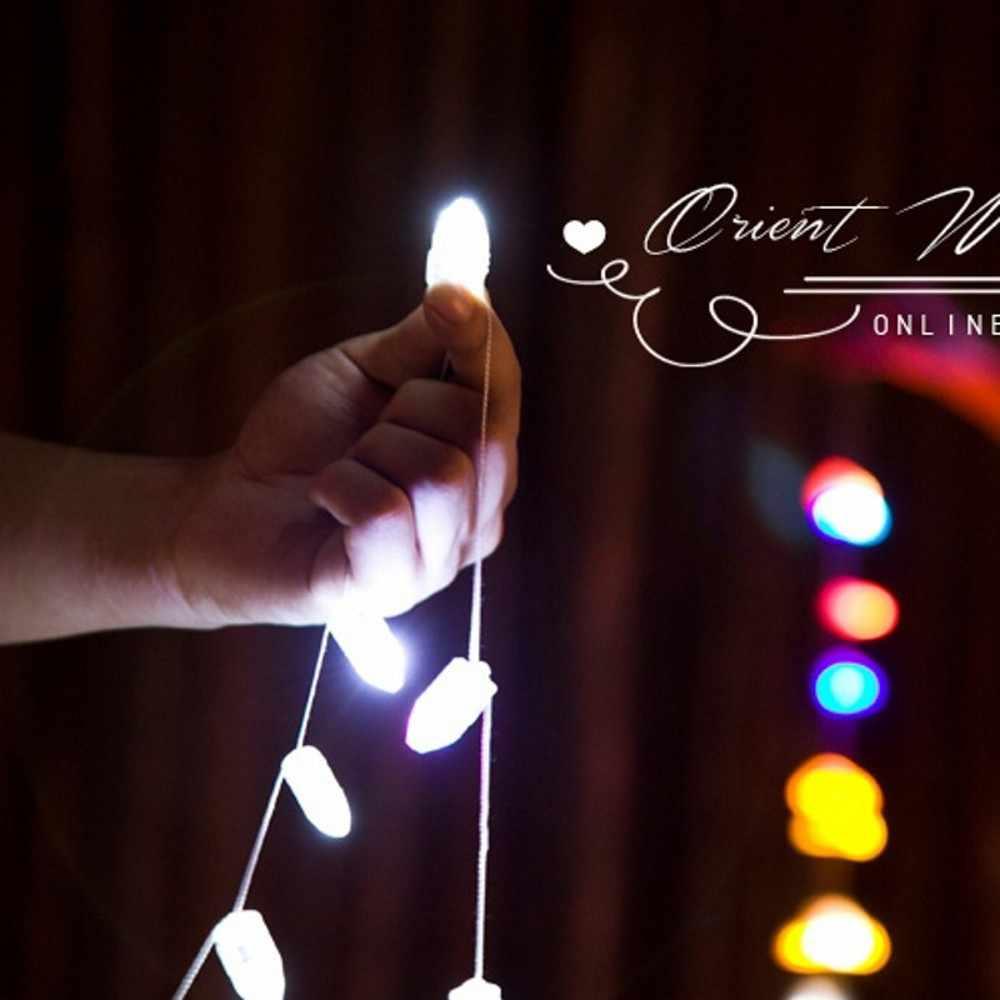 Adeeing 10 шт. компактный светодиодный шар свет мигающая лампа для бумажный фонарь воздушный шар свет лампы RGB вечерние свадебные украшения