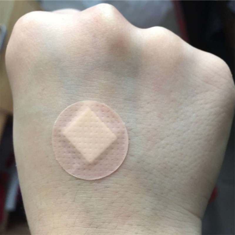 20 Pcs 50 Pcs First Aid Waterproof Wound Paste Medical Anti-Bacteria Band Aid Spot Shape For Home Travel