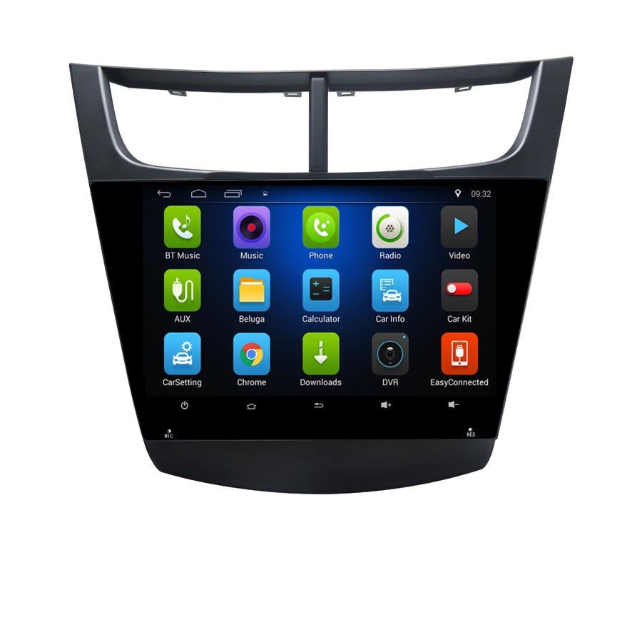 Livraison gratuite Elanmey android 8.1 voiture multimédia pour Chevrolet sail 2016 navigation gps stéréo radio headunit enregistreur lecteur