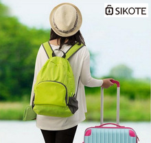 SIKOTE Women Portable Shoulder Bag Men Travel Bags Waterproof Nylon Foldable Valise Backpack Suitcase Packing Cubes