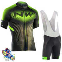 2019 NW Northwave Cycling jersey Set Summer Bicycle Clothing Maillot Ropa Ciclismo MTB Bike Clothes Sportswear Suit Cycling