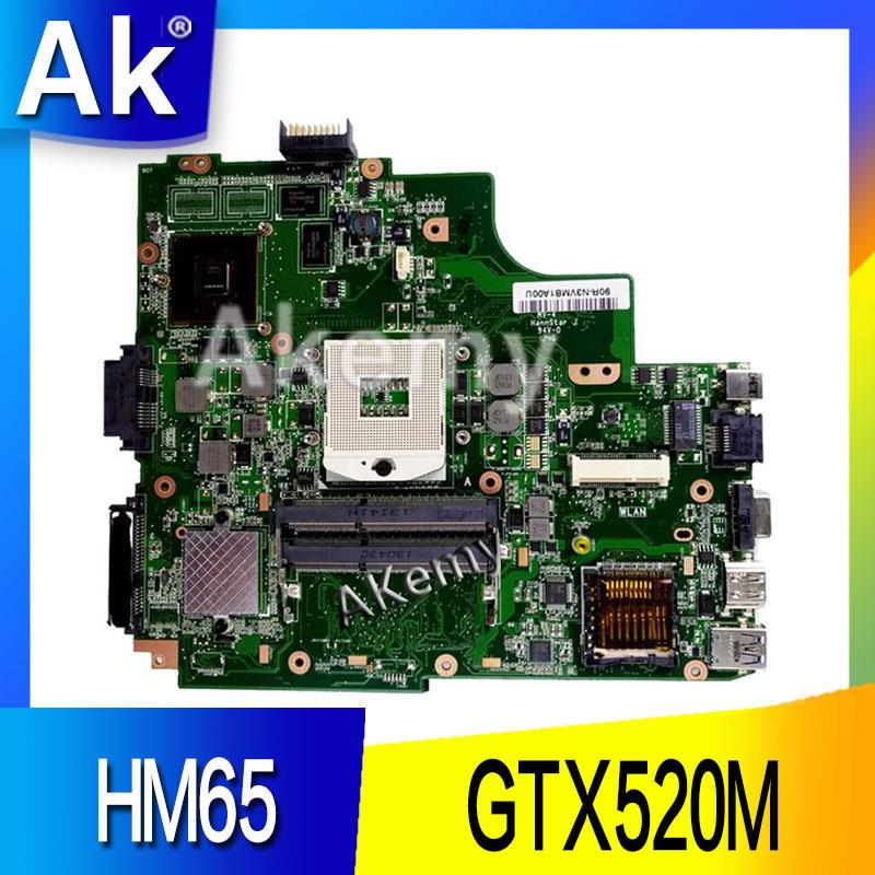 AK  K43SJ Laptop Motherboard For ASUS X43S A43S K43S A83S A84S K43SV Mainboard 100% OK  1GB  GT520M