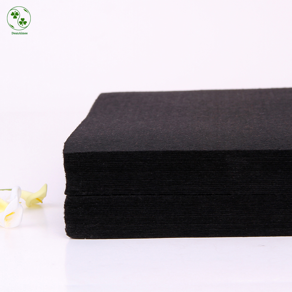 30x30cm black felt material cloth diy needlework sewing for Cloth material for sewing