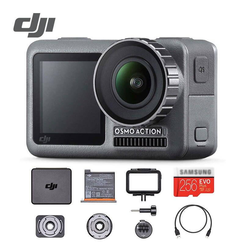 DJI Câmera Ação 4 Osmo K telas de Vídeo HDR 60 P UHD Subaquática À Prova D' Água Capacete Dupla Estabilização de RockSteady