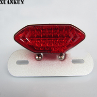 XUANKUN Motorcycle Taillights Modified LED Taillights Brake Lights