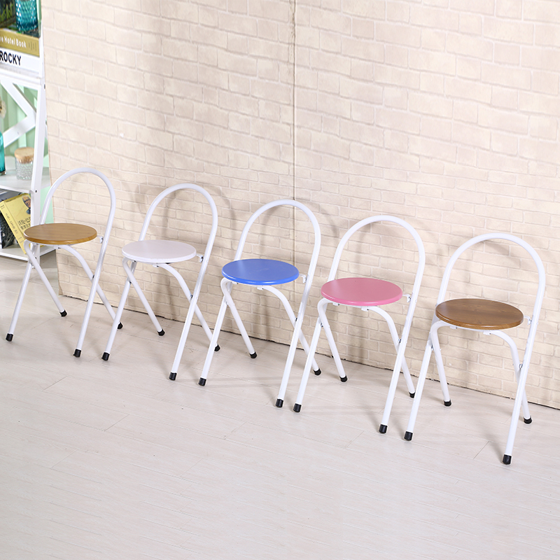 children foldable chair living room stool bedroom household chair stool free shipping furniture shop retail wholesale free shipping dining stool bathroom chair wrought iron seat soft pu cushion living room furniture