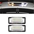 Frete Grátis 2 pcs livre de erros super brilhante licença LED placa luz Para TT 8N 1999 ~ 2006 substituição auto lâmpada