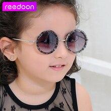 reedoon Top Fashion Coating Sunglasses Vintage Baby Boy Girls Kids Sunglasses Children Sun Glasses Oculos De Sol Gafas infantile