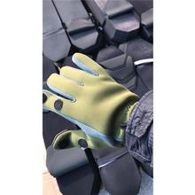 LumiParty Elastic Diving Fabric Non-slip Windproof Waterproof Breathable Warm Professional Ice Fishing 2 Finger Appearing Gloves