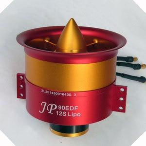 Image 5 - 90mm EDF Full Metal Ducted Fan JP 90mm with three Choice Brushless Motor: 4250 KV1750 Motor(6S),4250 KV1330(8S),4250 KV1050(12S)