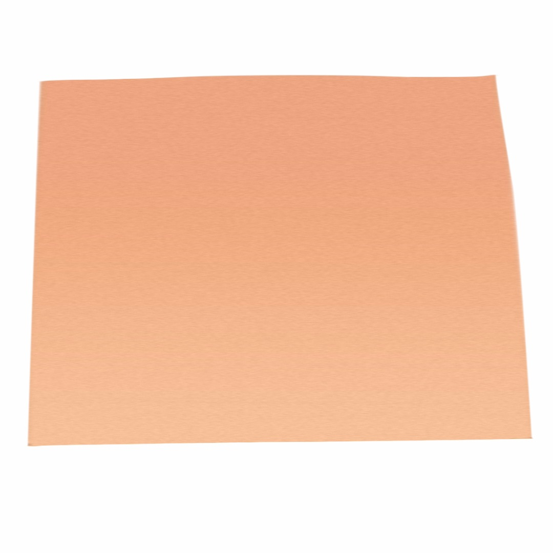 99.9% Pure Copper Cu Sheet High Purity Copper Sheet Thin Metal Foil Roll 0.1x100x100mm With Corrosion Resistance