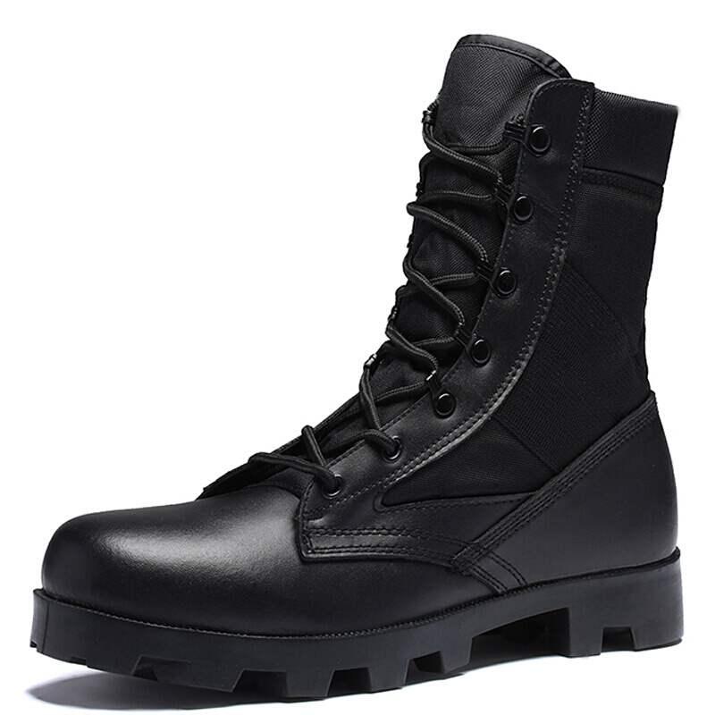 Nouveau ultraléger hommes armée bottes haute coupe militaire chaussures en cuir tactique bottines Jungle bottes chaussures de plein air Plus armée bottes