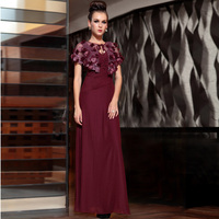 free shipping 2015 new hot seller the banquet elegant long design full marry quality special occasion gown custom evening dress