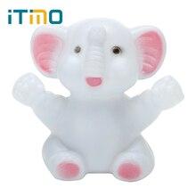 Itimo Цвет светодиодные слон ночник Атмосфера лампы для малыша Детские прикроватной тумбочке Спальня украшения Детский подарок Симпатичные лампы