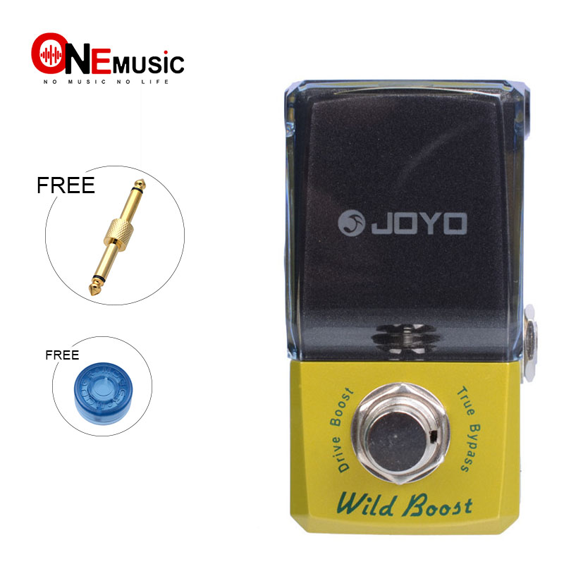 Joyo JF 302 Wild Boost Drive Booster Effect pedal New Ironman Mini Series Effect Pedal with