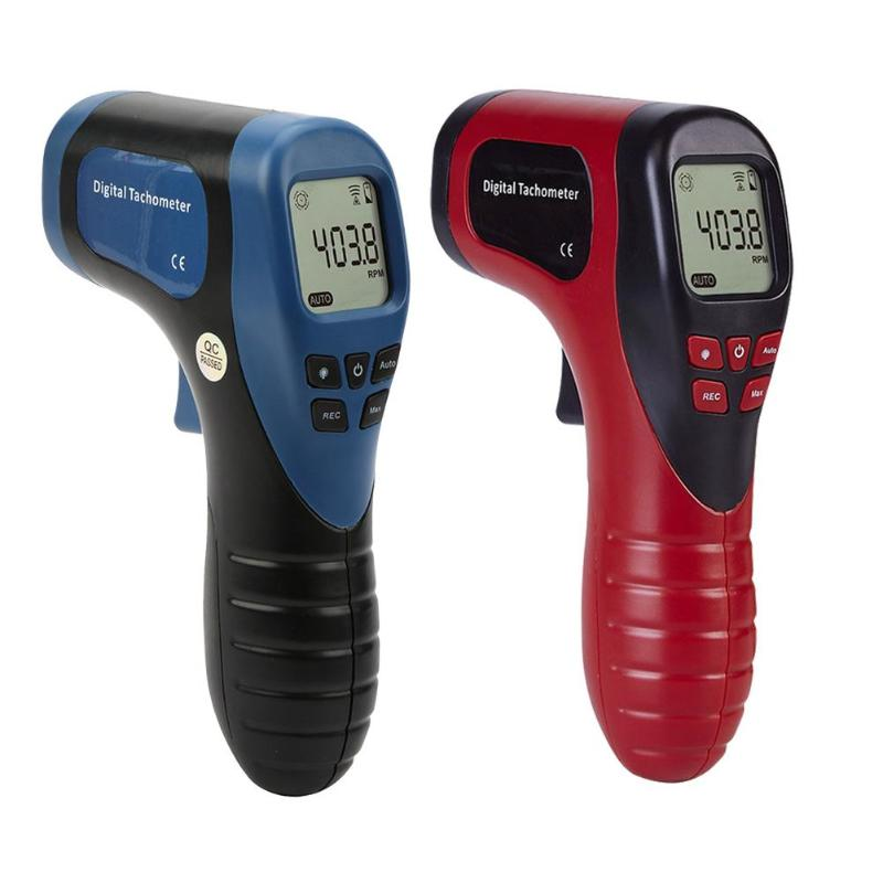TL-900 Tachometer Laser Digital Tachometer Non-Contact Measuring Range:2.5-99999RPM Motor Wheel Lathe Speed Meter