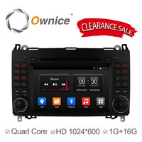 Quad Core Android 4 4 CAR DVD PLAYER For Mercedes B200 W169 A160 Viano Vito GPS