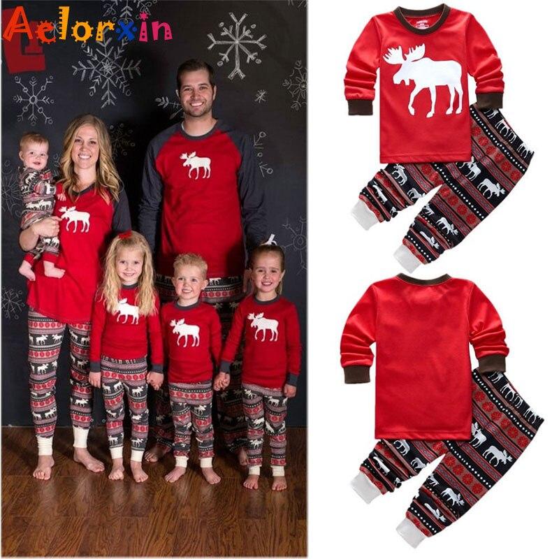 Різдвяні піжами для сімейного одягу - Дитячий одяг - фото 2