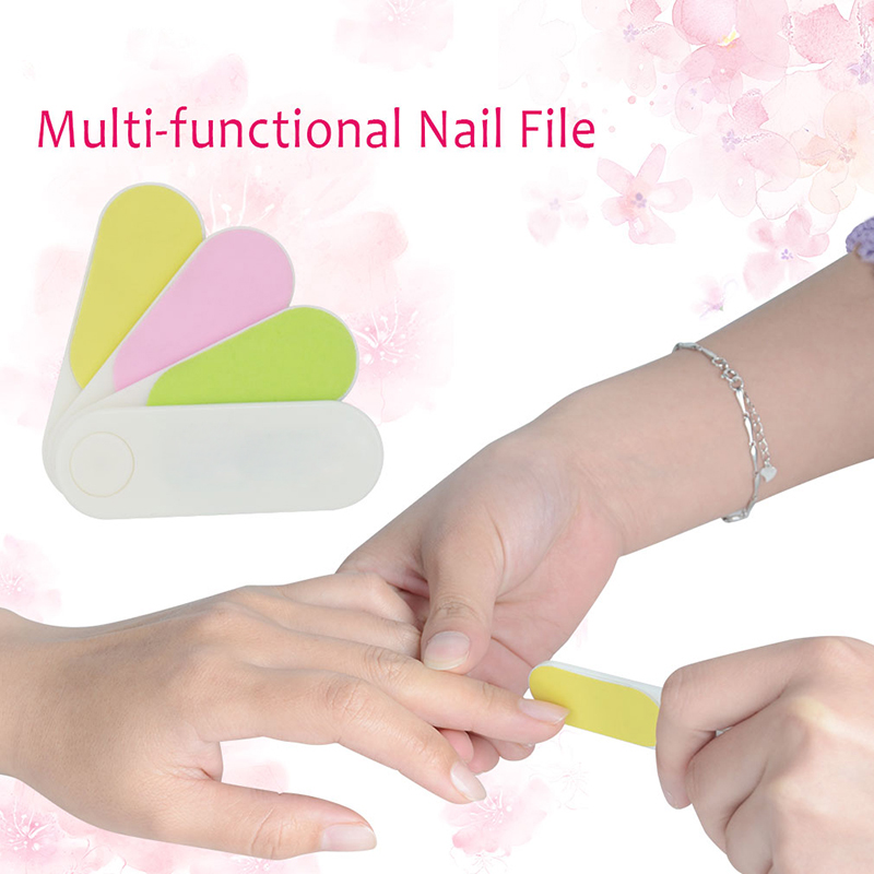 4 In 1 Professional Nail Files Buffer Tool Buffing Mini File Smooth Buff Shine For Makeup Callus Shavers From Beauty Health On