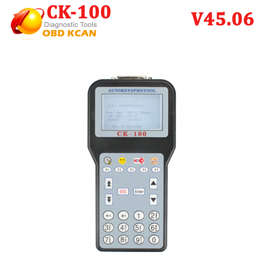 Newest V45.06 CK-100 <font><b>CK100</b></font> <font><b>Auto</b></font> <font><b>Key</b></font> <font><b>Programmer</b></font> with 1024 Tokens Add New Car Models image