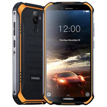 Перейти на Алиэкспресс и купить Смартфон Doogee S40, Android 9,0 Pie, IP68 IP69K водонепроницаемый, 5,5 дюйма, 4650 мач, сканер лица, сканер отпечатка пальца, 4G LTE NFC
