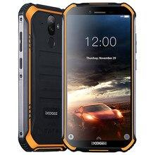 """Doogee S40 アンドロイド 9.0 パイ携帯電話 IP68 IP69K 防水 5.5 """"4650 2600mah 顔 Id 指紋ロック解除 4 グラム LTE NFC スマートフォン携帯電話"""