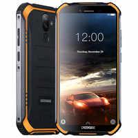 "Doogee S40 Android 9,0 Pie teléfono celular IP68 IP69K impermeable 5,5 ""4650 mAh cara ID huella dactilar desbloqueado 4G LTE NFC Smartphone"