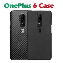 In stock Original OnePlus 6 Protective Case Karbon Sandstone