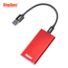 KingSpec Eksternal SSD 250 Gb Portable SSD 500 GB Hard Drive 120 GB HDD 1TB SSD USB3.1 Type- C Solid State Disk HD USB3.0 untuk Laptop(China)