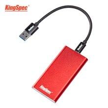 KingSpec внешний SSD 250 gb Портативный SSD 500 gb жесткий диск 120 gb hdd 1 ТБ SSD USB3.1 type-c твердотельный диск hd USB3.0 для ноутбука