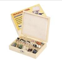 Best Rotary Tool Kit Accessories Bits Fit Dremel 100 Pcs For Gambling Betting Stone Jewelry Glass