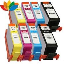 8x Compatible 364 HP 364 XL Ink Cartridges for Photosmart Premium C309n C309g C310a inkjet Printer