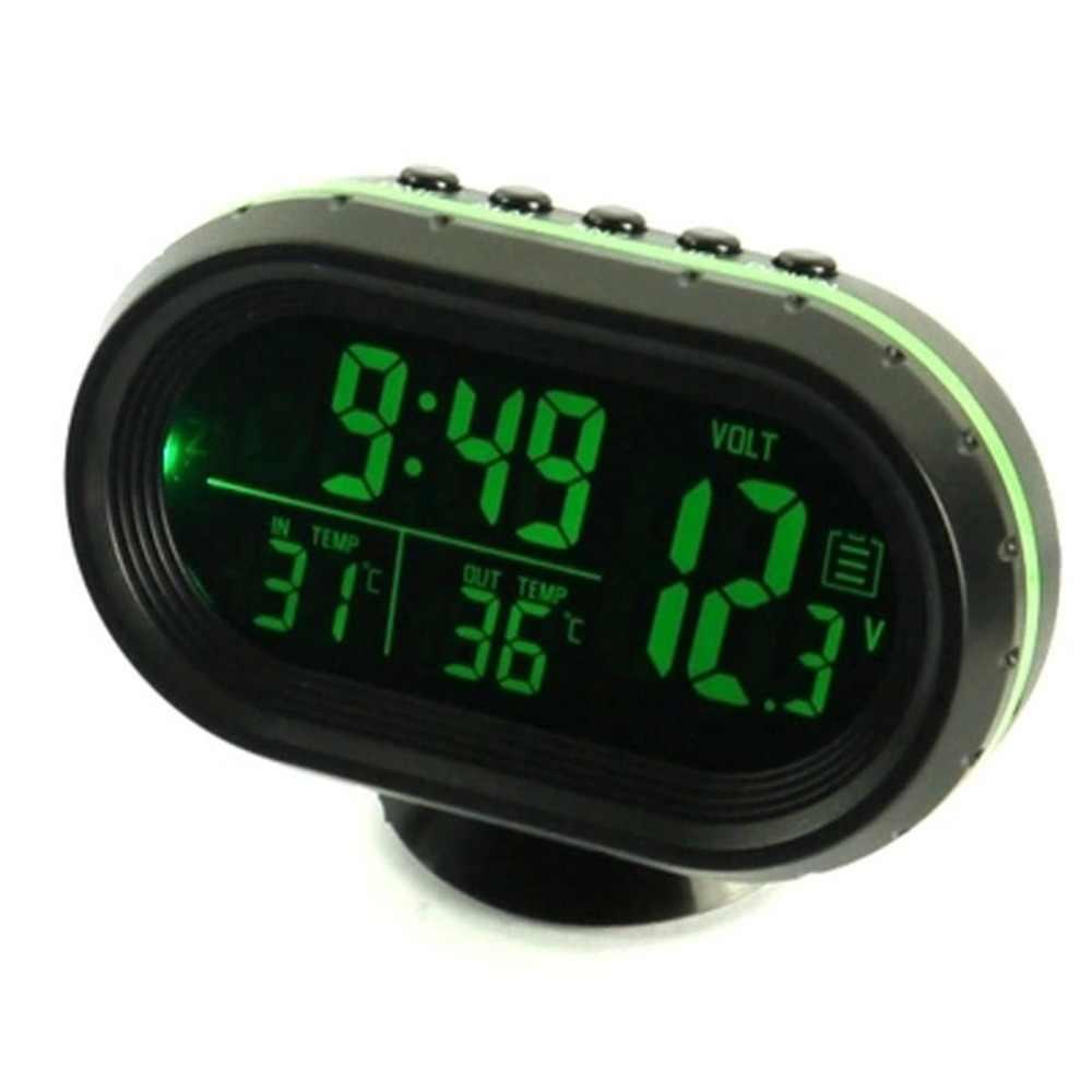 Светодиодный дисплей Вольтметр для напряжения Панель метр зеленый цвет цифровой термометр для автомобиля индикатор Тестер Вольтметр высокое качество