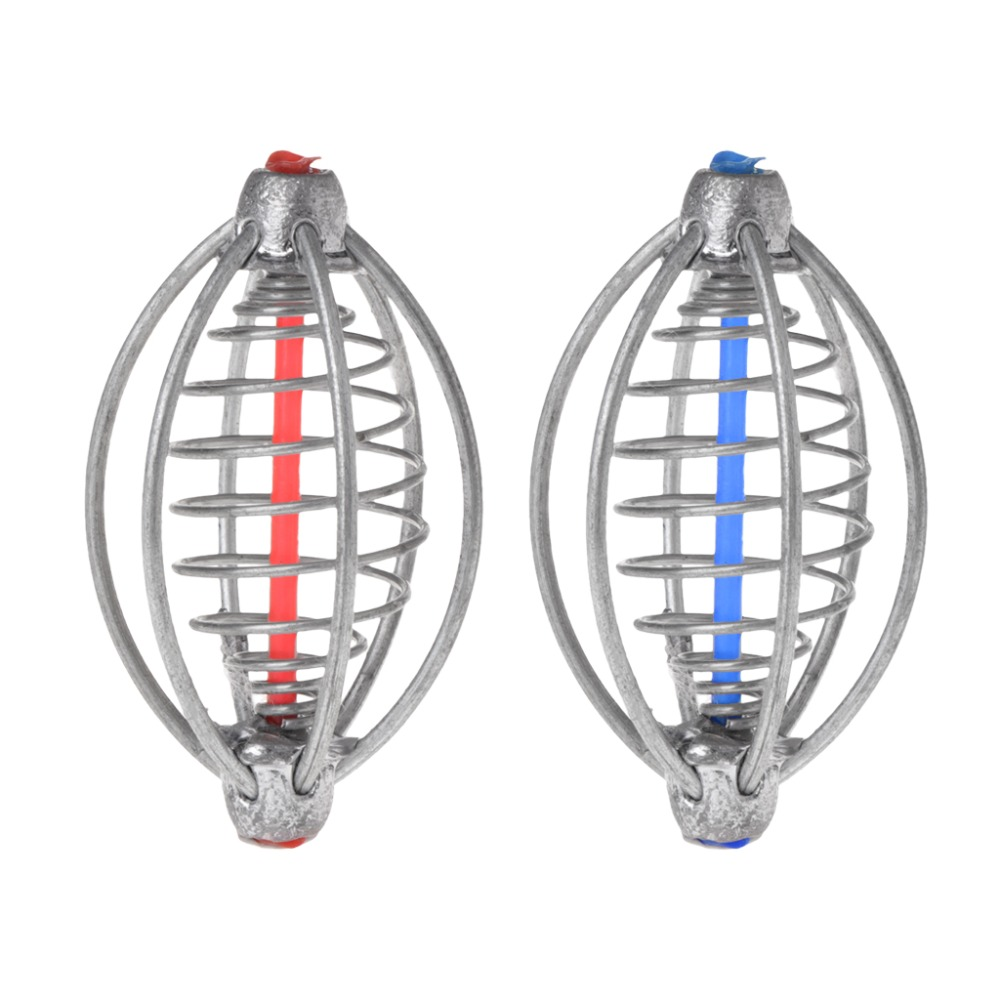Fishing Feeder Lead Cage Explosion Hook Tackle Lure Bait Holder Accessories Tool