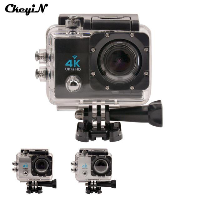 16MP Ultra HD 4 K Wifi Extrema Câmera de Esportes 1080 P Mergulho À Prova D' Água câmera Lente Cam Ação 170D 2.0 ''Tela Mini DV Esporte-4647