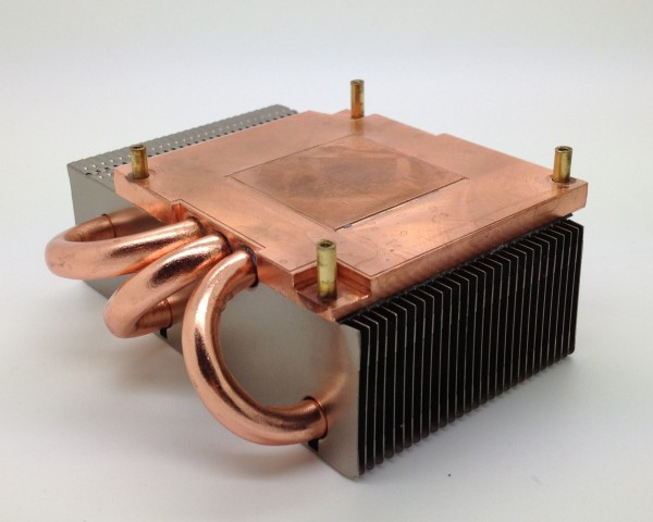 3 Copper Base Heat Pipe Radiator Cards Standard 53MM DIY Heat Pipe Radiator FONSONING