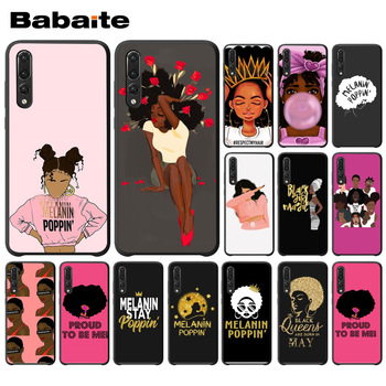 Babaite 2bunz Melanin Poppin Aba Phone Accessories Case For huawei p20 pro p20lite p9lite nova 3i honor 8x mate20 pro funda image