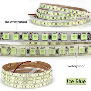 Image 4 - Tira de luces LED 600 de 5M, 5054, resistente al agua/no impermeable, cinta de 12V CC, más brillante que 5050, blanco frío/blanco cálido/azul hielo