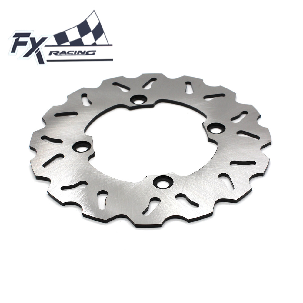 FX  Motorcycle 220mm Fixed Rear Brake Disc Rotor For Honda CBR150R 2000-2003 2001 2002 2003 Moto Accessories mfs motor motorcycle part front rear brake discs rotor for yamaha yzf r6 2003 2004 2005 yzfr6 03 04 05 gold