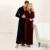 Homens e Mulheres Unissex Qualidade Super Macio Velo De Veludo Casal Cheio Comprimento Roupão Vestes Desgaste Salão Sleepwear Pijama Camisola