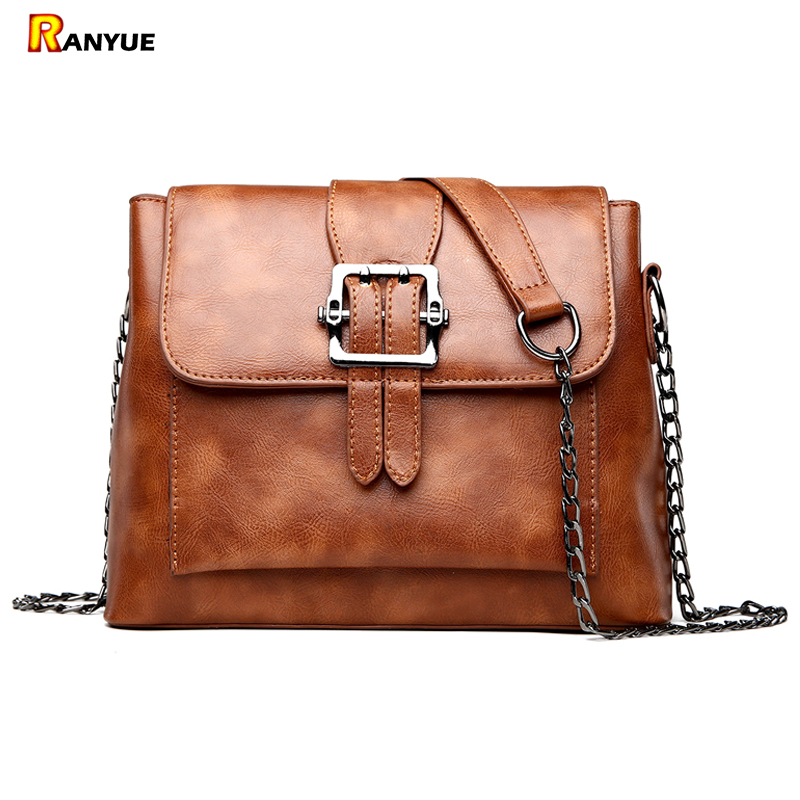 2018 New Vintage Chain Shell Bag Women Messenger Bags Crossbody Small Shoulder Bags For Women Pu Leather Handbags Bolsa Feminina joyir vintage women messenger bag designer genuine leather handbags crossbody bags for women shoulder bag bolsa feminina 8602