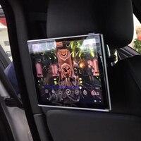 Автомобильный экран на базе Android в dvd плеер для подголовника ТВ Экран для Volvo S40 сзади развлечения Системы Поддержка 3g и 4G ключ
