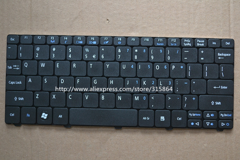 NEW For ACER Aspire S7-392 Keyboard Spanish Teclado Backlit Silver